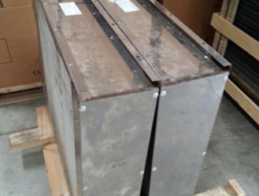 radiatore per deumidificatore industriale