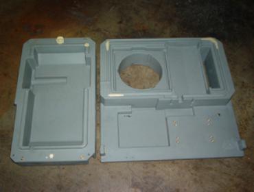 base supporto per impianto motore elettrico frigorifero industriale